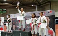 Jubel in Erfurt, Frankfurt und Wolfskehlen: Daniela Woelke ist Deutsche  Meisterin 2017 im Karate U21