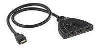 3-fach-HDMI-Switch für 4K-UHD-TVs, HDMI 2.0 mit automatischer Umschaltung