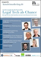Legal Tech als Chance!