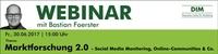 Live-Webinar zum Thema Marktforschung 2.0