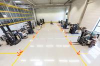 Crown Gabelstapler mit neuem Trainingszentrum in Neufahrn bei München
