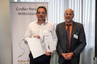 Schraner erreicht Jurystufe beim großen Preis des Mittelstandes
