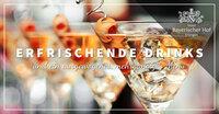 Spektakuläres Cocktail-Menü im Rosmarin