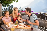 Familienzeit im Schenna Resort