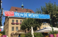Heilbronner Weindorf 2017: Rolf Willy, Erwin Gollerthan, WG Cleebronn-Güglingen & Felsengartenkellerei Besigheim neu dabei