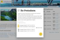 Kreuzfahrten - Preisalarm mit Urlaubszeit.de