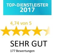 TOP-Dienstleister! Auszeichnung für Englisch nach Maß®