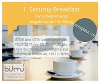 Sicherheitsexperten treffen sich branchenübergreifend zum Security Breakfast