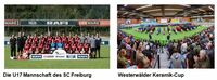 "SC Freiburg Teilnehmer beim ""Westerwälder Keramik-Cup 2018"""