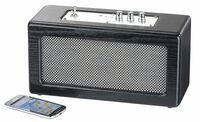 auvisio Mobiler Retro-Lautsprecher mit Bluetooth 4.1