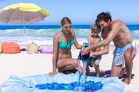 showimage Last-Minute-Tipp: Strandpooldecke von EverEarth® - Planschbecken und Stranddecke in einem