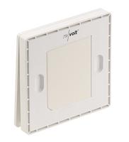 Batterieloser Funk-Lichtschalter: Funk-Wandtaster/Sender und Funk-Empfänger