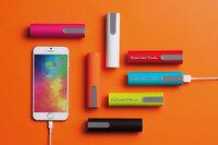 Da schau her: Powerbanks in Trendfarben als Werbeartikel