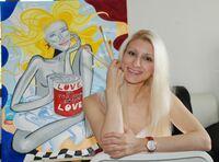 Tanja Playner - 500 000 Twitter Follower für die Pop Art Kunst