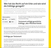 Kooperation von Gelbe Seiten mit Ingo Lenßens Rechtsportal Advopedia.de