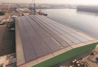 Distributed solar industrial rooftop-system in Dubai: Phanes Group cooperates with meteocontrol