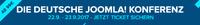 Das Programm für den JoomlaDayTM in Königstein steht