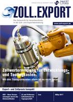 Zeitschrift ZOLL.EXPORT -  Ab sofort auch im Online-Abo erhältlich