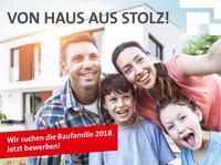 Deutsche Bauwelten sucht die Baufamilie des Jahres 2018!