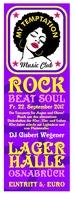 My Temptation Music Club Party, Lagerhalle Osnabrück
