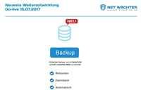 NET WÄCHTER integriert Backup-Modul
