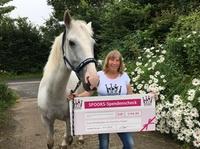 SPOOKS spendet 5.194,90 Euro für die Erste Pferdeklappe