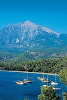 Antalya von oben  Tahtali Dagi
