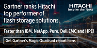 Hitachi ist ein Leader in Gartners Magic Quadrant for Solid-State Arrays
