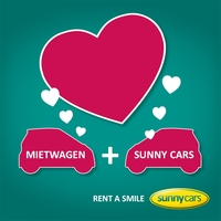 """Sunny Cars feiert den ersten """"Tag des Mietwagens"""""""