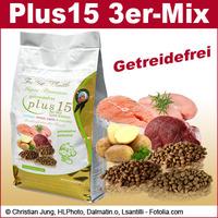 Getreidefreies Hunde Trockenfutter Plus15 der Extraklasse