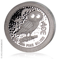 Eulen aus Athen kommen als Silbermünzen zu neuem Ruhm