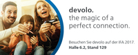 The magic of a perfect connection. devolo auf der IFA 2017