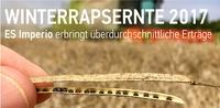WINTERRAPSERNTE 2017 - EURALIS