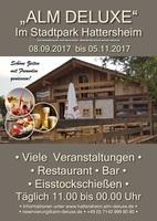 Die Alm in Hattersheim: Original Oktoberfest-Feeling in der Innenstadt