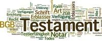Erbrecht: Testament anfechten in Baden-Baden