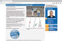 Infos für Sicherheitsingenieure zur neuen Norm DIN EN 131