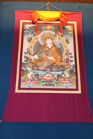 showimage Zu verkaufen - 4,5 Meter langes buddhistisches Rollbild Padmasambhava