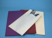 Bestecktaschen und Pocket Napkins als praktische Lösungen im Gastronomiebedarf