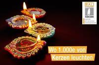 Wo 1.000e von Kerzen leuchten
