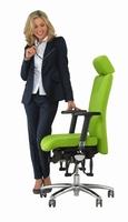 Bioswing sorgt für exzellent ausbalanciertes Sitzen