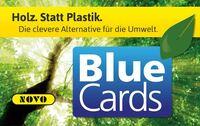 Kundenkarten aus Holz: NOVO übersteigt Fünf-Millionen-Marke