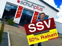 50 % auf Alles! schuhplus - Schuhe in Übergrößen startet SSV 2017