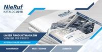 showimage Das Sortiment auf einen Blick: NieRuf GmbH veröffentlicht den Katalogifant 2018