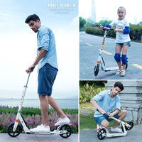 Wheel Kick Scooter von Fascol bietet stylische Mobilität für Teens und Erwachsene