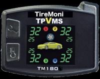 Reifendruck, -Temperatur und -Vibration überwachen.