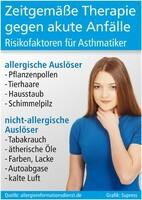 Asthmatiker fürchten viele Risiken