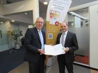 Dienstjubiläum bei der Rüsselsheimer Volksbank eG