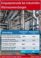 Einsparpotenziale bei industriellen Wärmeanwendungen