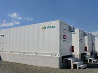 Unterstützt Solarkraftwerk: Li-Ionen-Batteriespeichersystem von GS YUASA