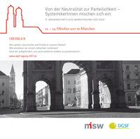 SystemikerInnen mischen sich ein: DGSF-Tagung 2017 München